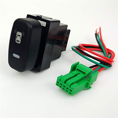 Relé de interruptor automotriz LED FOG Sluttish BattleFront Cámara Registrador Monitor Monitor de radar Sensor Sensor Switch Botton Wire para Outlander 2006-2012 (Color : Radar Parking sensor)