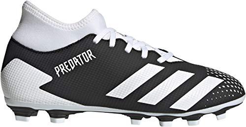 adidas Predator 20.4 S IIC FxG, Zapatillas de fútbol para Hombre, NEGBÁS/FTWBLA/NEGBÁS, 41 1/3 EU