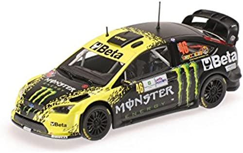 Minichamps 1 43  Ford Focus WRC Beta Monster Monza Rally 2009 Valentino Rossi Auto