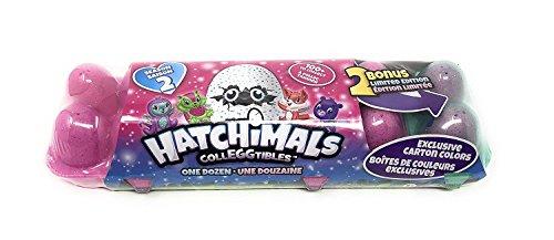 HATCHIMALS Season 2 Colleggtibles 12 Pack Egg Carton ~ 2 Bonus Limited Edition Eggs