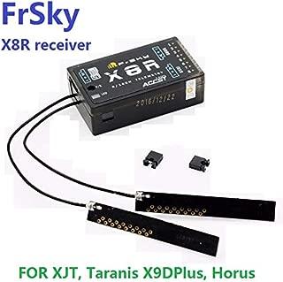 FrSky X8R 2.4G S.Port 8/16ch Telemetry Receiver X8R for Taranis X9D X9D Plus PCB Antenna