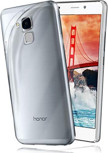moex® AERO Hülle Transparente Handyhülle kompatibel mit Huawei Honor 5C | Hülle Silikon Dünn - Handy Schutzhülle, Durchsichtig Klar