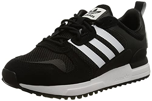 adidas Originals ZX 700 HD, Zapatillas Hombre, Core Black/Cloud White/Core Black, 44 EU