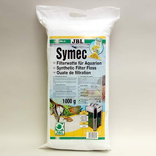 JBL Symec 62317, Filterwatte für Aquarienfilter gegen alle Wassertrübungen