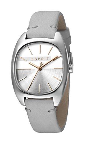 Esprit Damen Analog Quarz Uhr mit Leder Armband ES1L038L0015