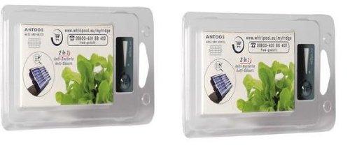 Wpro 2 filtres Anti-bactériens d'origine pour réfrigérateur