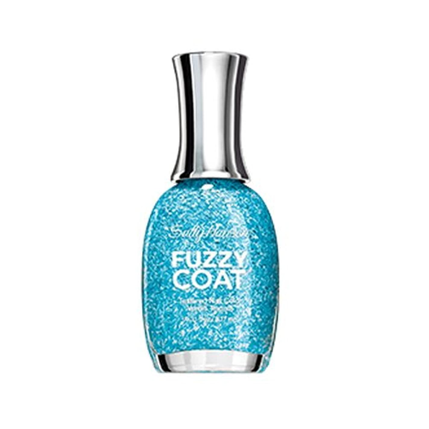 悪意のある構造ヤギ(6 Pack) SALLY HANSEN Fuzzy Coat Special Effect Textured Nail Color - Wool Knot (並行輸入品)