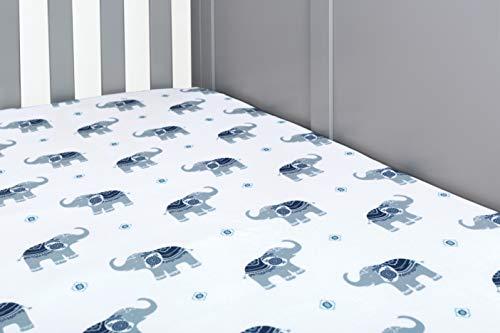 Nurture Celebration Bettlaken mit Elefantendruck für alle gängigen...