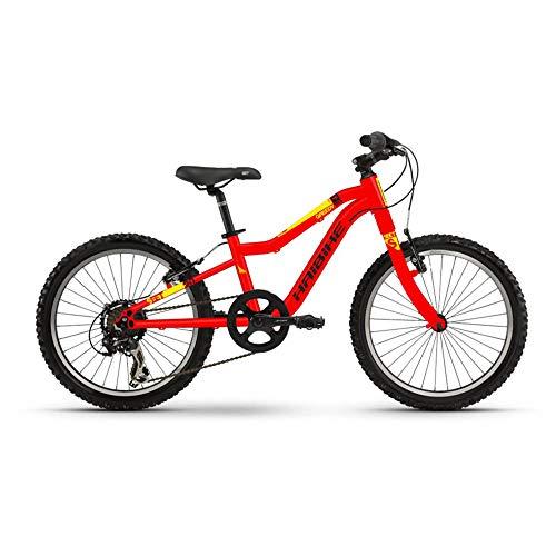 Haibike SEET Greedy 20 7-G Tourney 19 RH26 rot schwarz gelb Fahrrad