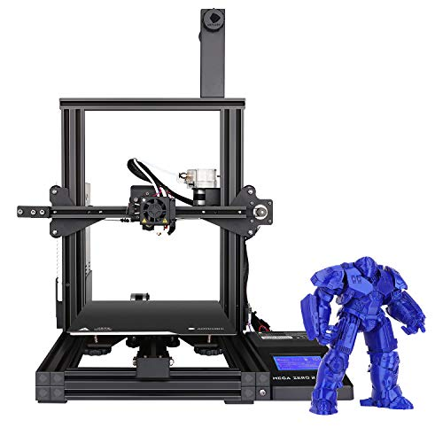 ANYCUBIC 3D Printer Mega Zero 2.0, Fast Heating, Update Version Auxiliary Leveling FDM Printer with Magnetic Printing Bed and Resume Printing 220x220x250mm,Support PLA, TPU, WOOD, PETG