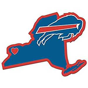 "NFL Buffalo Bills Home State Decal, 5"""