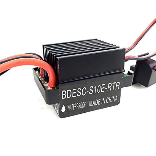 SANON Controlador de Velocidad Eléctrico Cepillado Esc 320A Impermeable para Barco Barco...