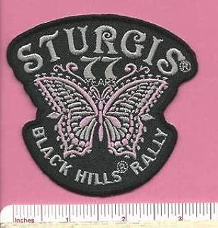 Sturgis South Dakota SD Bike Motorcycle Black Hills Rally Butterfly Patch 2017 by HighQ Store