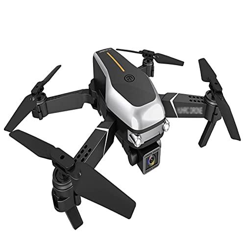 GZTYLQQ Drone 4K Ultra HD a Doppia Fotocamera, Un Semplice Aereo a Quattro Assi Adatto ai Principianti, con stabilizzazione dell'immagine e Funzione Anti-Shake