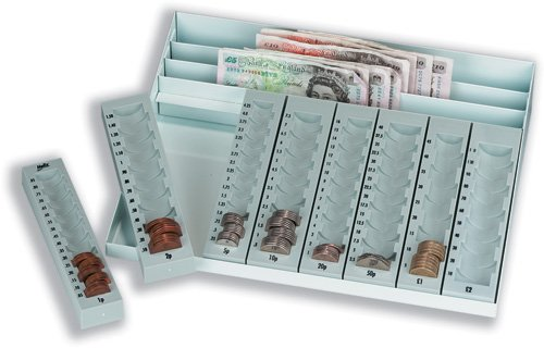 Helix Coin Tray and Note Holder (Pound Sterling)