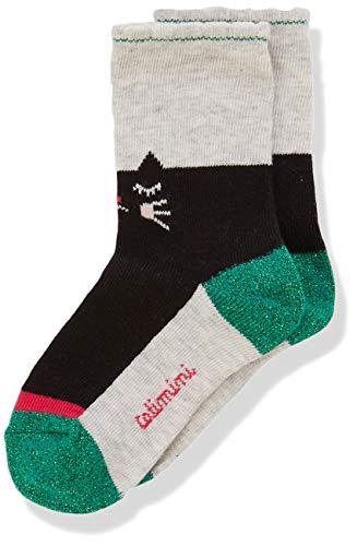 Catimini Baby-Mädchen Cp93003 Chaussettes Socken, Elfenbein (Ecru 11), 3-6 Monate (Herstellergröße: 15/18)