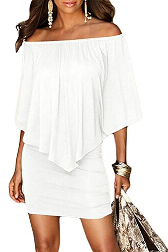 white and gold lace detail dress - 1