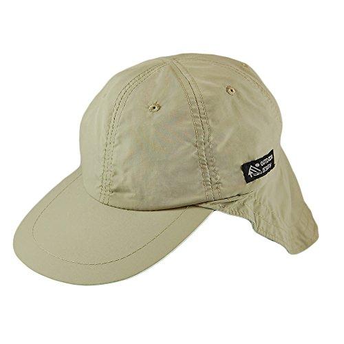 Preisvergleich Produktbild Village Hats Dorfman-Pacific Supplex Cap mit Nackenschutz - Khaki - One Size