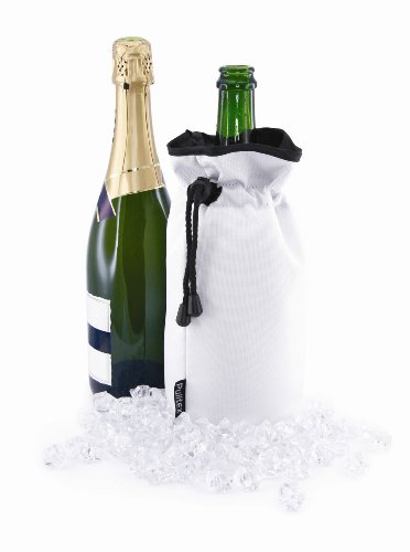 Pulltex enfriador de botellas de vino Extreme, color blanco