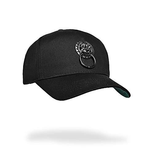 ZZYJYALG Hüte für Männer chinesischer Stil Hut Hip Hop Straße Persönlichkeit Männer und Frauen Paare Gezeiten Hut Ente Zunge Baseball Hut Frühling Sommer Herbst Outdoor Sun Schutz Sonnenhut