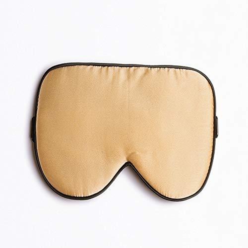 Máscara de seda de doble cara para ojos 100 seda seda máscara de ojos opaca, gafas de seda sueño