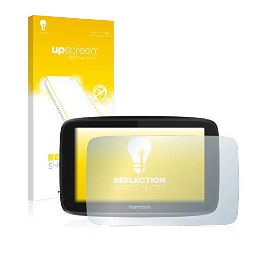 upscreen Entspiegelungs-Schutzfolie kompatibel mit Tomtom GO 5200 – Anti-Reflex Displayschutz-Folie Matt