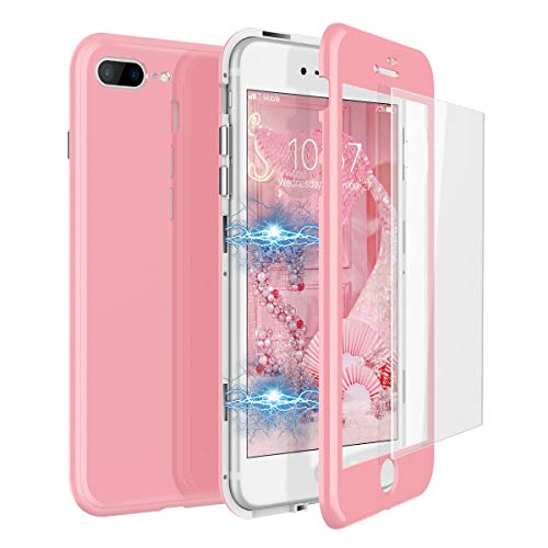 CE-Link Funda iPhone 7 Plus Funda iPhone 8 Plus Cristal