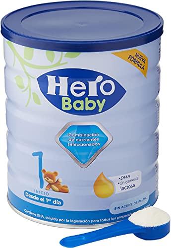 Hero Baby 1- Leche en Polvo de inicio, 800 gr