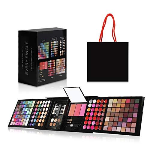 Hotrose Full 177 Color Eyeshadow Palette Blush Lip Gloss Concealer Kit...