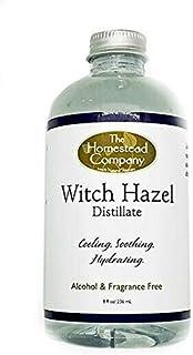 The Homestead Company - Witch Hazel Distillate Alcohol & Fragrance Free - 8 oz.