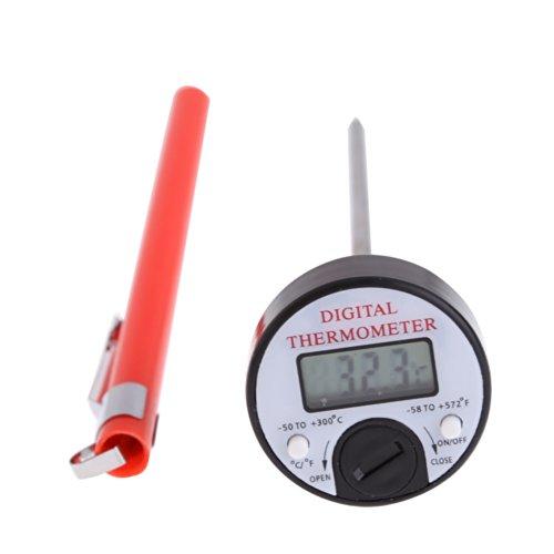 Preisvergleich Produktbild WG Portable LCD Digital Thermometer Temp Tester mit Sonde Sensor Manometer für Haushalt Küche Lebensmittel Werkzeuge Drop Shipping