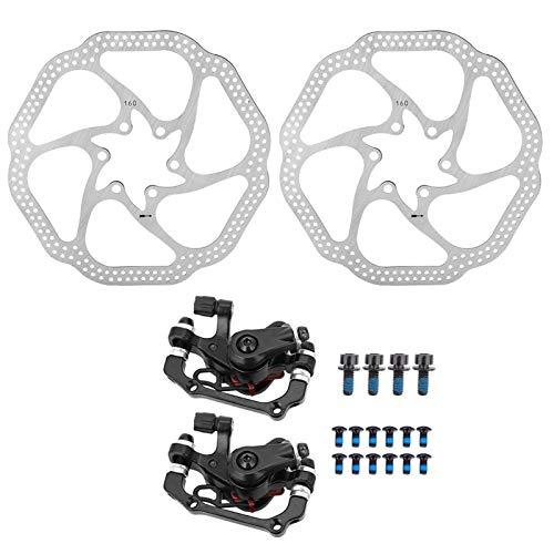 Kit de Freno de Disco para Bicicleta, Freno de Disco Mecánico para...