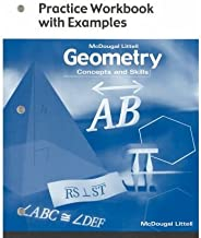 McDougal Littell Concepts & Skills: Practice Workbook with Examples Geometry (Paperback) - Common