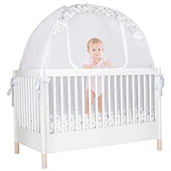 Crib Tent to help transition to toddler bed.