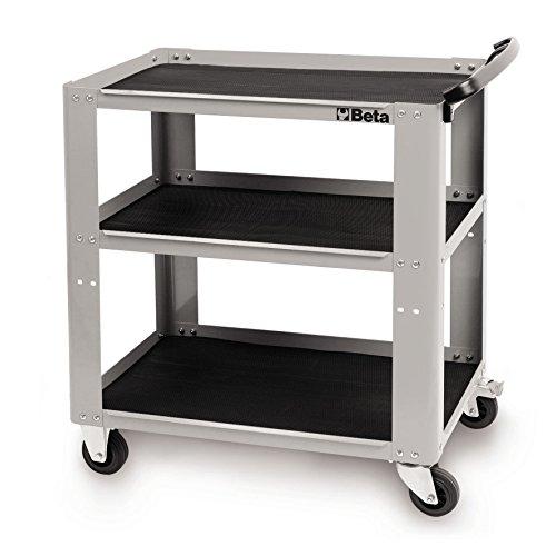 Beta Tools C51grau Staffelung Garage Werkstatt Teile & Werkzeug Trolley Spiegelschrank 3Tops in...