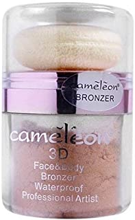 Cameleon 3D Face & Body Waterproof Bronzer - Natural ( 10g )