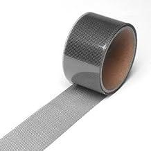 RanDal Screen Repair Tape włókno szklane, mocny klej, wodoszczelny, do okien i drzwi – szary