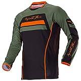 LGGJJYHMY Motocicleta equipo de bicicleta de montaña camiseta de descenso MTB Offroad DH MX camiseta de locomotora de bicicleta cross country mountain bike fox jersey-XS