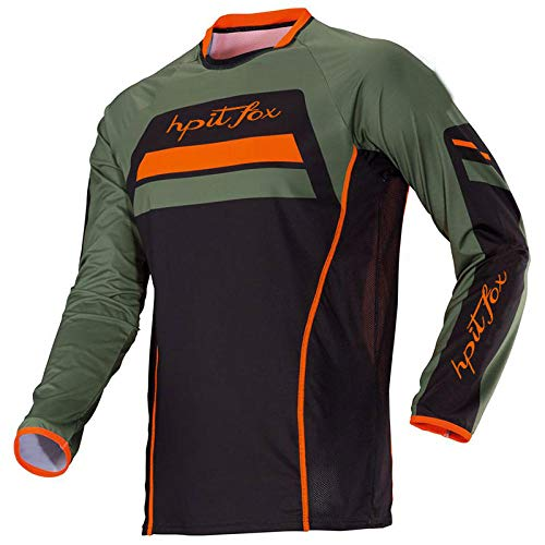 Motorcycle Mountain Bike Team Downhill Jersey MTB Offroad DH MX Bicycle Locomotive Shirt Cross Country Mountain Bike