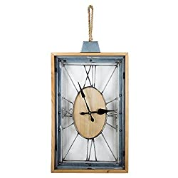 American Art Decor Roman Numerals Clock (Battery Operated)