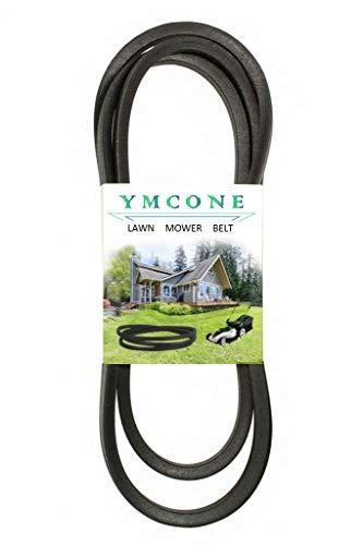 "YMCONE Riding Lawn Mower Tractor Deck Belt 1/2"" x146 1/4"" for John Deere M154621, Exmark 109-5364, Country Clipper D-3727 D-3727-W"
