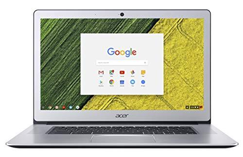 Acer Chromebook 15 CB515-1HT-P099 15.6-Inch Notebook - (Pure Silver) (Intel Pentium N4200, 4 GB RAM, 64 GB eMMC, Intel HD Graphics 505, Chrome OS) (Renewed)