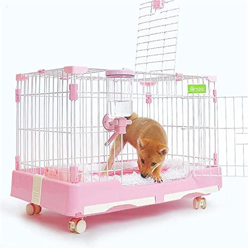 Caja De La Jaula De Perros Cause Plegable De Metal Para Mascotas...
