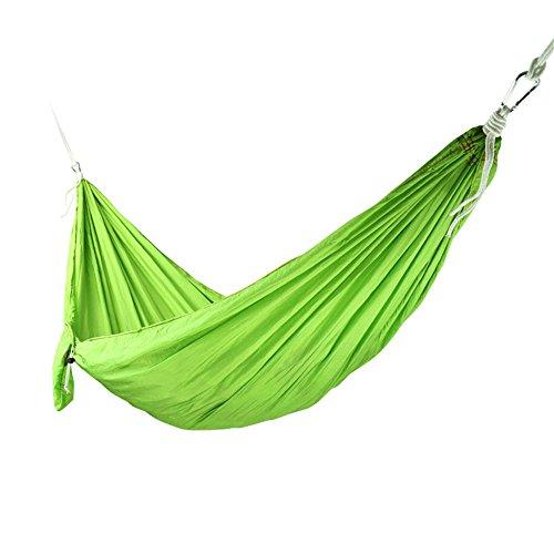 MONEYY Ascenseur comme Couvre-Lits Chambre Double Parachute est Une Grande Entreprise Outdoor Camping hamacs sur Ficelle 220 * 90cm