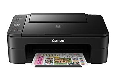 Canon TS3120 Wireless All-in-One Printer, Black