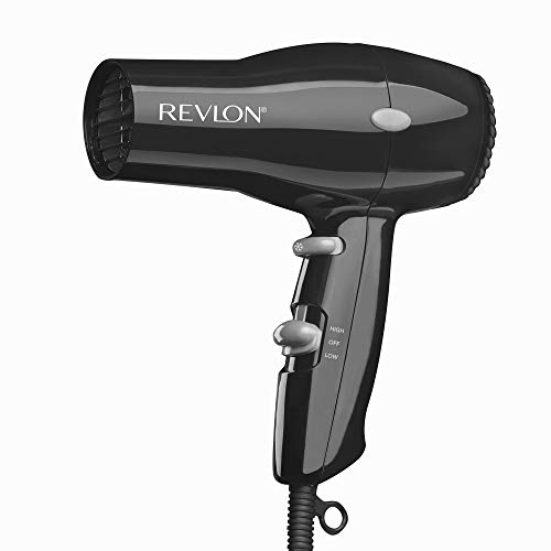 REVLON 1875W Lightweight + Compact Travel Hair Dryer