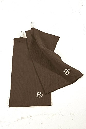 Bennington Golf Tuch Mikrofaser Towel Microfibre (Braun)