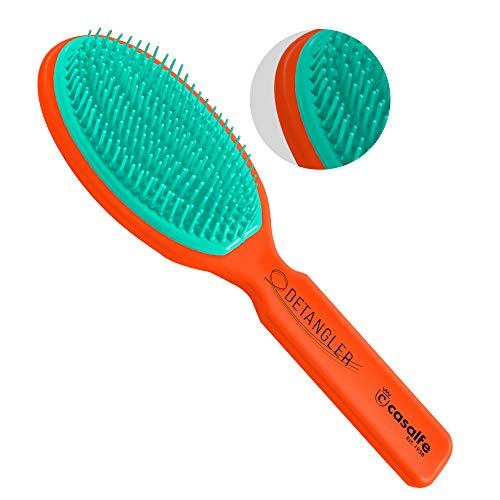 Casalfe Cepillo Desenreda Sin Tirones. Patente System FIA - no rompe el pelo. Fabricado en España. - Retro Color