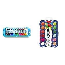 Product 1: Prodotta con pigmenti che conferiscono ai colori luminosità ed elevato potere coprente Product 1: Quantità per confezione 12 x 7 ml Product 1: Facilmente miscelabile Product 1: Non adatto a bambini sotto i 3 anni Product 2: Pastiglie di te...