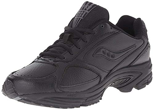 Saucony Men's Grid Omni Walking Shoe,Black,9.5 M (4260-2)